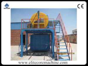 Ecmt-141 Steam System Re-Bonded Foaming Sponge Machine