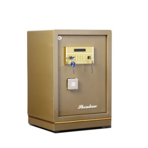 Security Home Safe Box with Digital Lock-Champagne Gold Seriers Fdx A1/D 60y pictures & photos