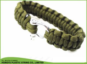 Outdoor Camping Men Self-Rescue Paracord Parachute Cord Bracelets pictures & photos
