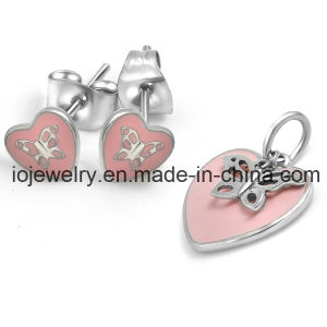Baby Rabbit Animal Wholesale Stainless Steel Jewelry Set pictures & photos