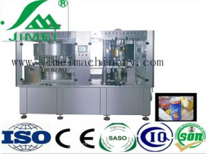 Hot Sale Automatic Can Filling and Sealing Machine 2-in-1 for Carbonated Drink Beer pictures & photos