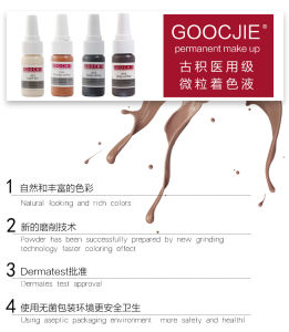 Goochie Professional Micropigment High Quality Permnent Makeup Ink Micropigment pictures & photos