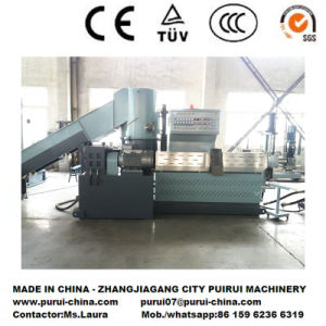 Plastic Pelletizing Machine for Waste Plastic Recycling pictures & photos