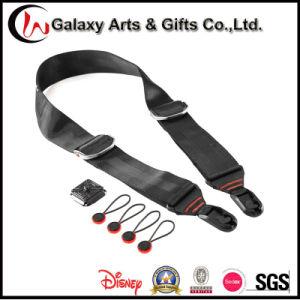 Wholesale OEM Polyester Black Camera Shoulder Design Neck Strap pictures & photos