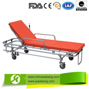 Adjustable Aluminum Alloy Stretcher Trolley pictures & photos