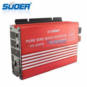Suoer 24V 220V 1000W DC AC True Pure Sine Wave Inverter (FPC-H10000B) pictures & photos