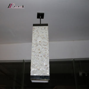 Industrial Natural Shell Pendant Lighting with Metal Part pictures & photos