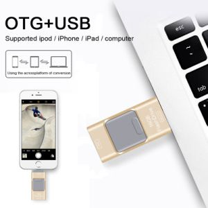 USB3.0 OTG USB Thumb Drive for iPhone iPad High Speed pictures & photos