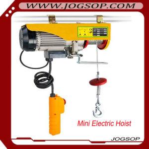 Manufacturer of Mini Electric Hoist Lifting Hoisting Construction Crane pictures & photos
