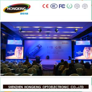 Ultra - Slim P3.91 P4.81 Indoor Rental Full Color LED Display Screen for Advertising pictures & photos