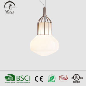 2017 Modern Glass Metal Pendant Lamp for Room Decoration Hanging Light pictures & photos