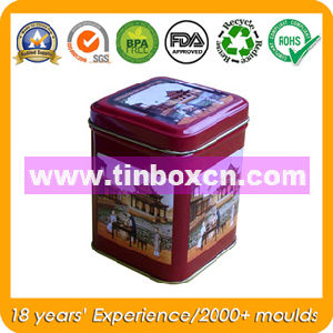 Square Food Tin Container, Metal Tin Box pictures & photos