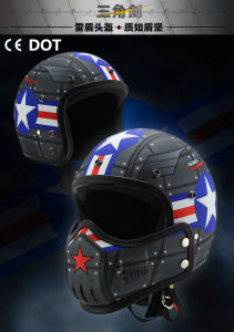 2017 Hot Sell New Design Unique Transformer Motorcycle Helmet pictures & photos