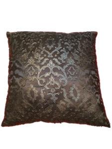 Sr-C170521-6 Filled Laser PU Decorative Cushion pictures & photos