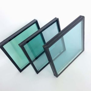 Double Triple Low E Insulating Glazing Wall Window Glass pictures & photos