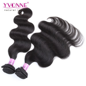 Grade 7A Body Wave Brazilian Virgin Remy Human Hair Weaving pictures & photos