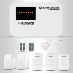Wireless Prompt Voice DIY GSM Alarm System with APP Operation pictures & photos
