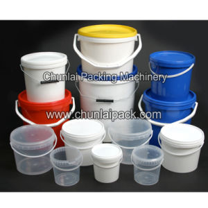 Automatic Line Type Plastic Bucket Filling Machine pictures & photos