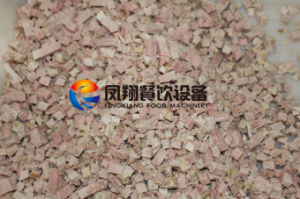 Automatic Electric Frozen Cooked Fresh Meat Food Cube Dicer with Ce Certificated pictures & photos