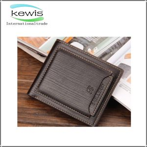 Fashion Custom Design Genuine PU Leather Man Wallet pictures & photos