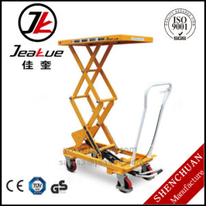 Economical Foot Pedal Scissor Lift Table pictures & photos