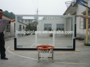 All Aluminum Frame, Tempered&Insulation Glass Basketball Backboard pictures & photos