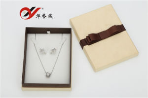 Special Paper Necklace Boxes with Bowknot pictures & photos