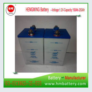Nickel Cadmium Battery Ni-CD Battery Alkaline Battery 1.2V 200ah for Sale pictures & photos