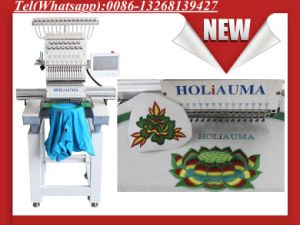 Easy Operation Brother Type Swf Similar 1 Head Embroidery Machine Multi-Function Cap Garmemts Dahao Touch Screen Cheap Price pictures & photos