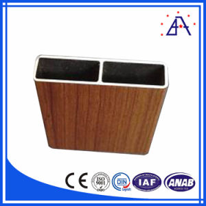 Multiple Choice Wooden Transferred Aluminium Extrusion Profile pictures & photos