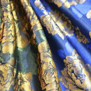 Beautiful Peony, Popular Polyester Jacquard Fabric pictures & photos
