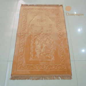 Mosque Falanell Emboss Prayer Carpet 1.2cm Thicknees pictures & photos