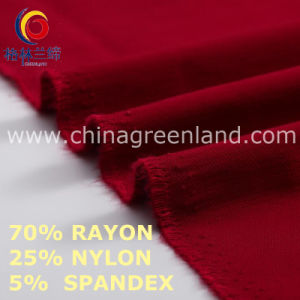 Nylon Rayon Spandex Fabric to Garments Industry (GLLML462) pictures & photos