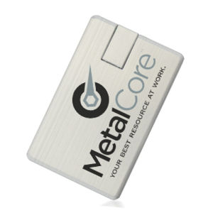 Meeting Gift Business Card USB Alloy Card 1GB-64GB pictures & photos