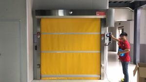 High Quality Industrial Flexible Automatic High Speed Roll up Door pictures & photos