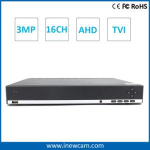 16CH H. 264 3MP/1080P Ahd CCTV Security DVR pictures & photos