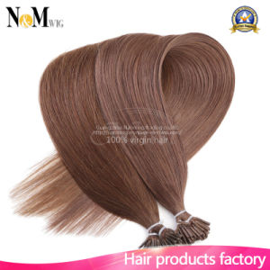 """20"""" Brazilian Remy Human Hair I Tip Stick Tip Keratin Fusion Hair Extensions 1g/S 50g 100g Straight Hair 16 Colors Option pictures & photos"""