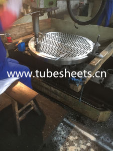 Titanium Steel Heat Exchanger Tubesheet pictures & photos