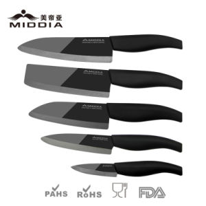 Mirror Blade Ceramic Noble Knife Set with Gift Box Packaging pictures & photos