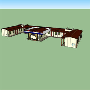 Prefabricated House for Accommodation and Office Use pictures & photos