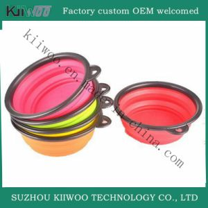 Hot Selling Multicolor Silicone Rubber Pet Bowl pictures & photos