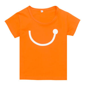 Fashion Comfortable Kids Wear T-Shirt with Heat Transfer Printing (TS066W) pictures & photos