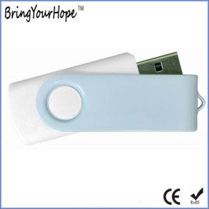 White Color USB Flash Drive (XH-USB-001) pictures & photos