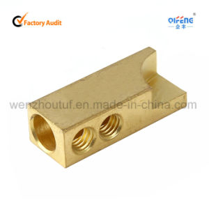 Brass Connector with Silver Tip Brazed Brass Connector pictures & photos