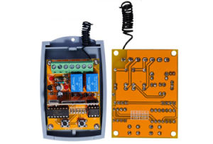 Universal 2 Channel 12 - 24V AC/Dcwireless Rolling Code Receiver for Gate Automation Door pictures & photos