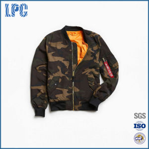 America Style Camouflage Scout Bomber Jacket pictures & photos
