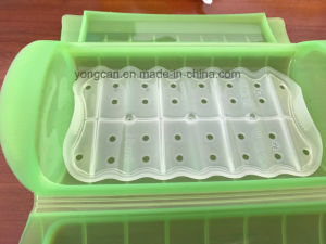 OEM Customize Microwave Used Platnum Silicone Plastic Box pictures & photos