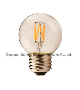 G50 UL/Ce/RoHS LED Vintage Globe Light Bulb Dimmable Filament Bulb pictures & photos