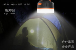 Waterproof Camping flashlight with 5200mAh Power Bank pictures & photos