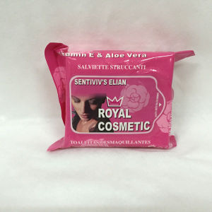 Refreshing Wet Tissues Organic Cosmetic Removal Wet Wipes pictures & photos
